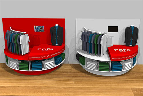 Shop in Shop System Rofa